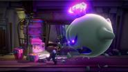 LM3 Screenshot Luigi und König Buu Huu