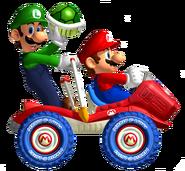 Mario y Luigi MKDD 2