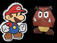 PMTOK Mario and Goomba