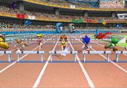 Athletics 110hurdles