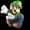 SSBU Artwork Luigi