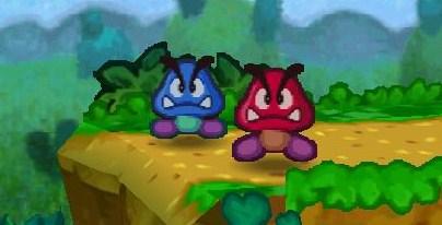 Hermanos Goomba Rojo y Azul