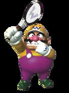 Mario Tennis - Wario Artwork