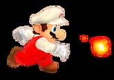 SM3DL Artwork Feuer-Mario