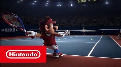 Mario Tennis Aces - Rafael Nadal VS Mario face-à-face de stars! (Switch)