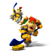 Mario Sports Mix Bowser y Bowser Jr.