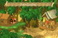 Jungle Hijinxs - Overworld - Super Donkey Kong (GBA)