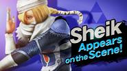 SSB4 Screenshot Charakter-Einführung Sheik