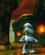 SM64 Artwork Metall-Mario