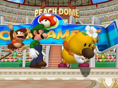 Diddy Kong, Luigi and Wiggler.jpeg