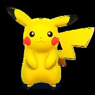 SSB4 Artwork Pikachu