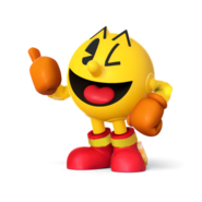 SSB4 Sprite Pac-Man 2