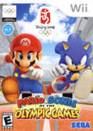Mario & Sonic at the Olypmic Games Wii СА обложка