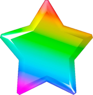 Regenbogen-Stern