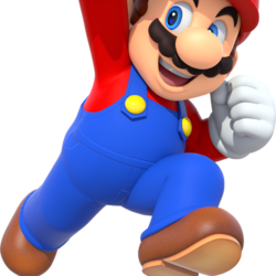 844px-Mario Party 10 Mario running (transparent).png
