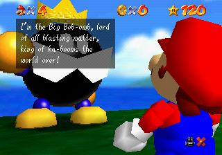 Big Bob-omb on the Summit