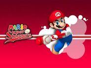 Mario bateando