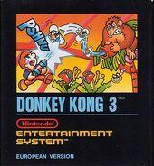 Donkey Kong 3 NES EUR
