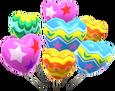 MKT Sprite Farbenfroh-Herzballons