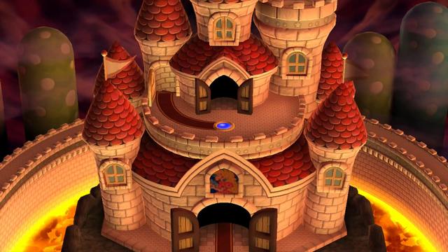 Peach's Castle (New Super Mario Bros. U)
