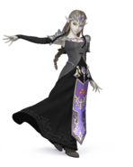SSB4 Sprite Zelda 4