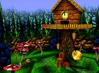 DK64 Screenshot Wunder Wald.png