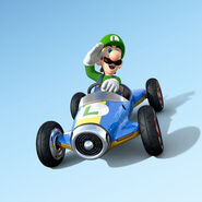 MK8 Artwork Luigi