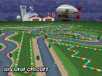 Circuit Luigi - MKDS