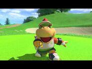 Mario Golf- Super Rush Special Shot + Special Dash – Bowser JR
