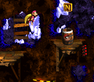 DKC2 Screenshot Böllergrube 11