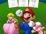 Super Mario How To Draw Guide (book)