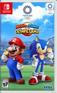 Mario Sonic Tokyo 2020 NA cover