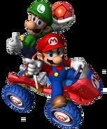 Mario y Luigi MKDD