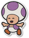 PMOK Artwork Violetter Toad