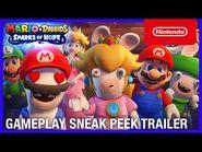 Mario + Rabbids Sparks of Hope - Gameplay Sneak Peek Trailer - Nintendo Switch-2