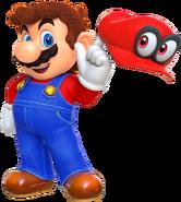 SMO Artwork Mario