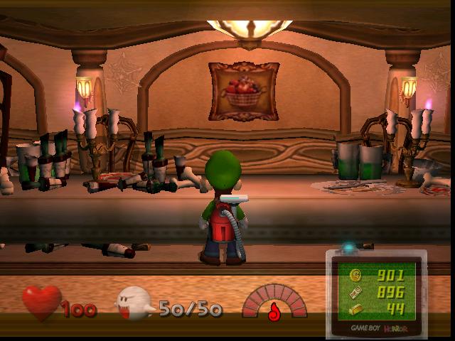 Salle à manger (Luigi's Mansion)