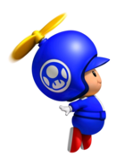 Toad Azul Hélice