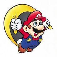 Mario con capa smw