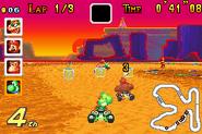 Sunset Wilds - Racing - Mario Kart Super Circuit
