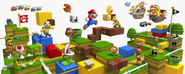 Super Mario 3D Land esenario completo