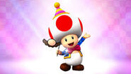 Toad party time
