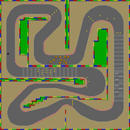 Circuit Mario 4 - SMK (parcours)