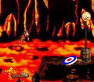 DKC2 Screenshot Lava-Samba 10