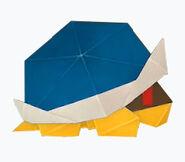 Buzzy Beetle origami