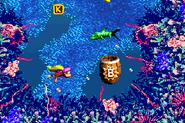 DKC3GBA Screenshot Bazzas Blockade 2