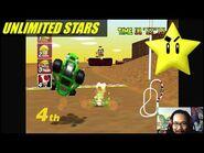 Mario Kart 64 Cheats Fun (Unlimited Stars) XD