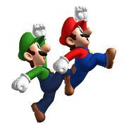NSMB Artwork Mario & Luigi 2