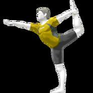 SSB4 Sprite Wii Fit-Trainer 4