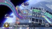 Mario kart 8 racetracks rainbow road by hawtlinkgasm64-d8klsi7